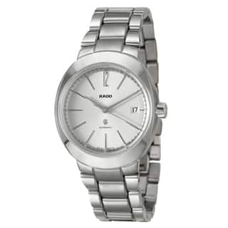 RADO Men's 'D-Star' Stainless Steel Swiss Automatic Watch|https://ak1.ostkcdn.com/images/products/7888817/7888817/RADO-Mens-D-Star-Stainless-Steel-Swiss-Automatic-Watch-P15270531.jpg?impolicy=medium