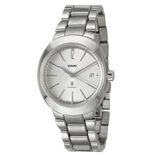 RADO Men's 'D-Star' Stainless Steel Swiss Automatic Watch