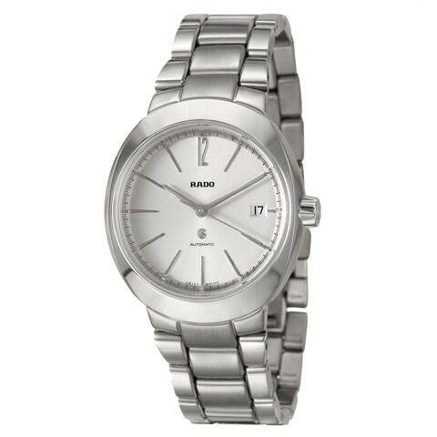 RADO Men's 'D-Star' Stainless Steel Swiss Automatic Watch