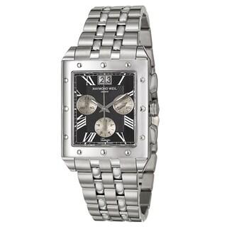 Raymond Weil Men's 'Tango' Stainless Steel Swiss Quartz Watch