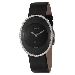 Rado Women's 'Esenza' Water-resistant Diamond Accented Swiss Quartz Watch