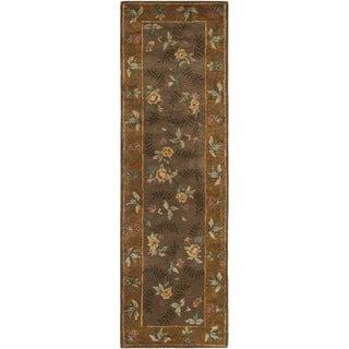 "Safavieh Newport Contemporary Handmade Multicolored Wool Rug (2'6"" x 8')"
