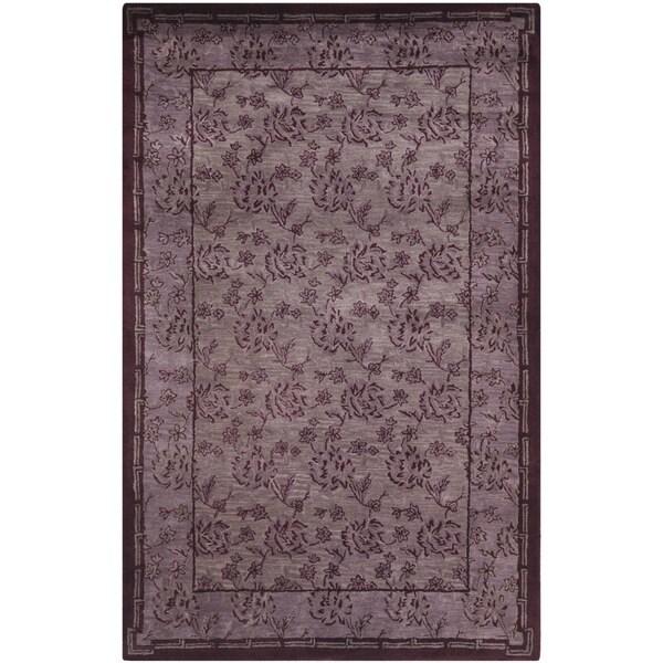Safavieh Handmade Newport Multi Wool Geometric Rug (9' x 12')