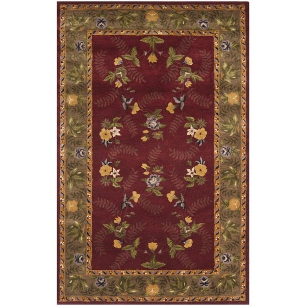 Safavieh Handmade Newport Multi Wool Rug with Durable Backing - 8' x 10'