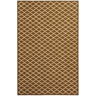 Safavieh Hand-hooked Newport Chocolate/ Ivory Cotton Rug (8'6 x 11'6)