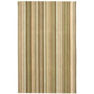 Safavieh Hand-hooked Newport Brown/ Multi Cotton Rug (5' x 8')