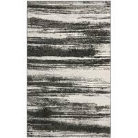 Safavieh Retro Modern Abstract Dark Grey/ Light Grey Distressed Rug - 3' x 5'