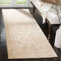 Safavieh Handmade Silk Road Ivory Wool/ Viscose Rug - 2'6 x 10'