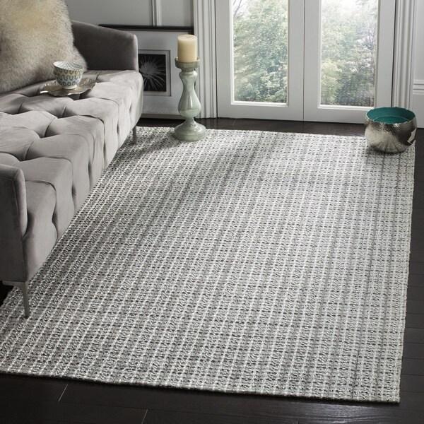 Safavieh Hand-woven South Hampton Silver Rug - 7'6 x 9'6