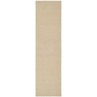 Safavieh Hand-woven South Hampton Beige Rug (2' x 12')