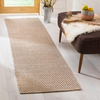 Safavieh Hand-woven South Hampton Beige Rug (2' x 12')