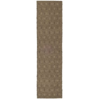 Safavieh Hand-woven South Hampton Brown Rug (2' x 6')