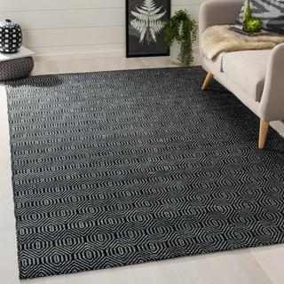 Safavieh Hand-woven South Hampton Black Rug (6' x 9')
