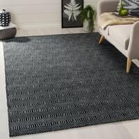 Safavieh Hand-woven South Hampton Black Rug (6' x 9') - 6' x 9'
