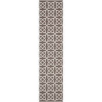 Thom Filicia Hand-woven Indoor/ Outdoor Saddle Rug - 2' x 6'