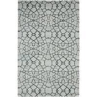 Thom Filicia Handmade Hudson Grey New Zealand Wool Rug - 4' x 6'