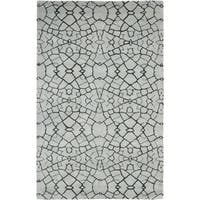 Thom Filicia Handmade Hudson Grey New Zealand Wool Rug - 5' x 8'