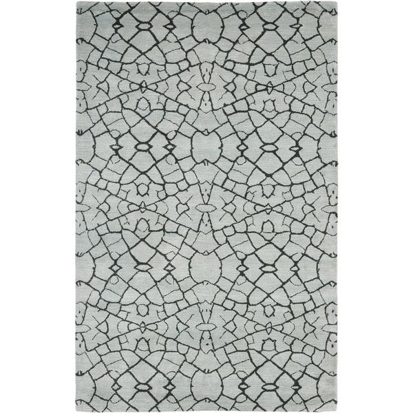 Thom Filicia Handmade Hudson Grey New Zealand Wool Rug - 8' x 10'