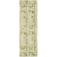 Thom Filicia Handmade Limestone New Zealand Wool Rug - 2'6 x 8'