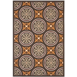Safavieh Veranda Piled Indoor Outdoor Chocolate Terracotta