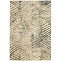Safavieh Vintage Light Grey Distressed Silky Viscose Rug - 4' x 5'7