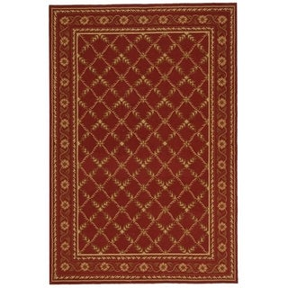 Safavieh Hand-hooked Wilton Red New Zealand Wool Rug (8'6 x 11'6)