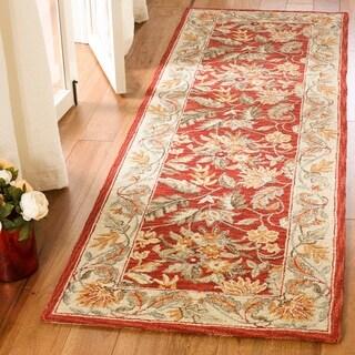 Safavieh Hand-hooked Chelsea Red Wool Rug (2'6 x 20')