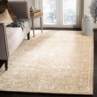 Safavieh Handmade Silk Road Ivory Wool/ Viscose Rug (9'6 x 13'6)