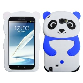 MYBAT White Panda Blue Hands Case for Samsung Note II T889/ N7100