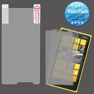 INSTEN Screen Protector Twin Pack for Nokia 920 Lumia