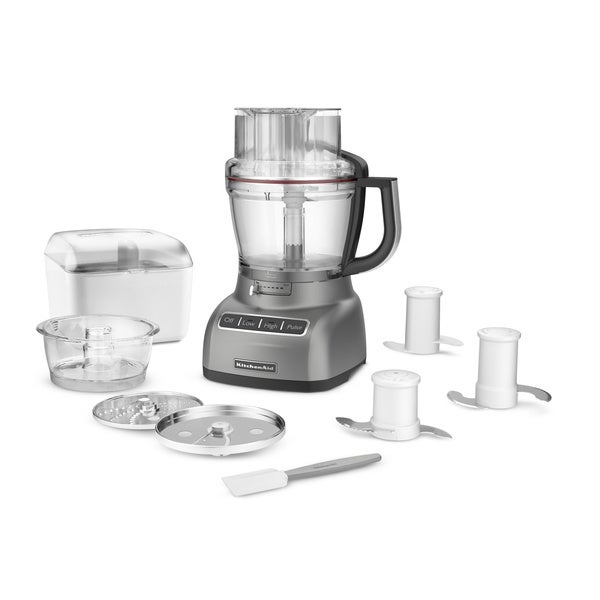 KitchenAid RKFP1333 ExactSlice 13-cup Food Processor  with Extra Bowl (Refurbished)