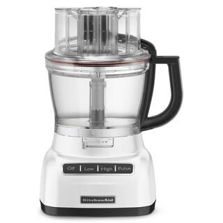 KitchenAid RKFP1333WH White 13-cup Food Processor (Refurbished)