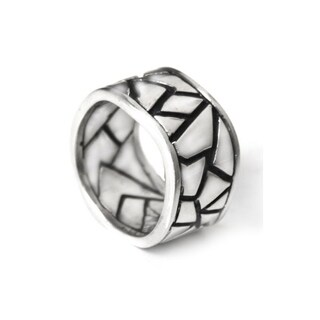 Handmade Sterling Silver Men's 'Puzzle' Ring (Indonesia) (2 options available)
