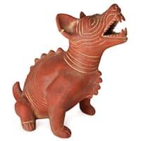 Ceramic 'Comala Dog' Figurine (Mexico)