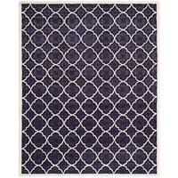 Safavieh Handmade Moroccan Chatham Purple Wool Area Rug - 6' x 9'
