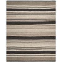 Safavieh Handwoven Moroccan Reversible Dhurrie Geometric Natural Wool Rug - 9' x 12'