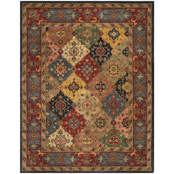 Safavieh Handmade Heritage Timeless Traditional Red Wool Rug - 9'6 x 13'6