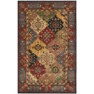 Safavieh Handmade Heritage Timeless Traditional Red Wool Rug (6' x 9')