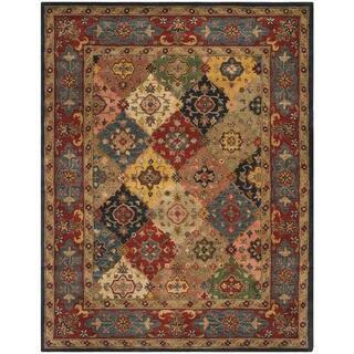 Safavieh Handmade Heritage Timeless Traditional Red Wool Rug 9 X