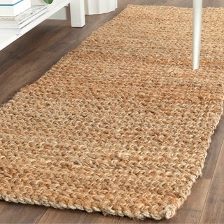 Safavieh Casual Natural Fiber Hand-loomed Sisal Style Natural Jute Rug (2'3 x 9')
