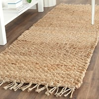 Safavieh Casual Natural Fiber Hand-loomed Sisal Style Natural Jute Runner Rug - 2'3 x 9'