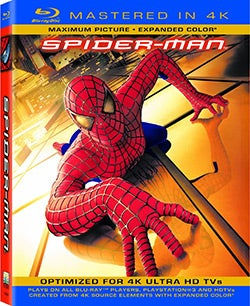 Spider-Man (4K-Mastered) (Blu-ray Disc)