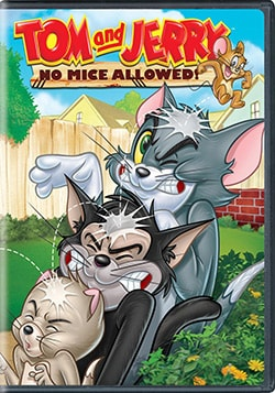 Tom and Jerry: No Mice Allowed! (DVD)