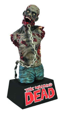 Diamond Select Toys The Walking Dead Michonne's Zombie Pet Vinyl Bust Bank