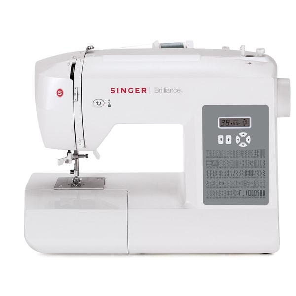 Singer 6199 Brilliance 100-stitch Sewing and Quilting Machine (Refurbished)