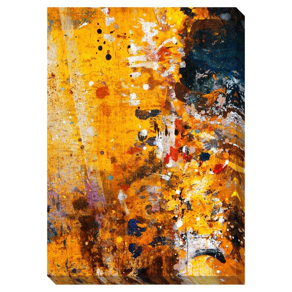 Gallery Direct Splatter Oversized Gallery Wrapped Canvas