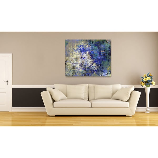 Rhythm Oversized Gallery Wrapped Canvas