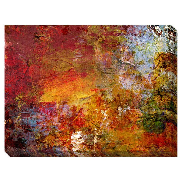 Gallery Direct Fall Glow Oversized Gallery Wrapped Canvas