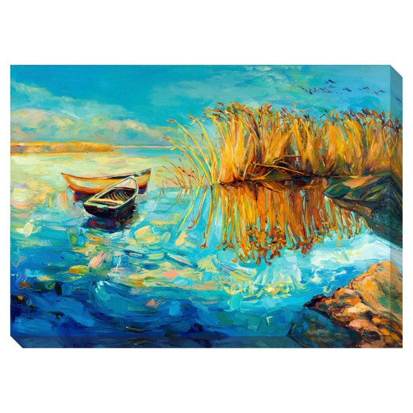 Gallery Direct Serene Lake Oversized Gallery Wrapped Canvas