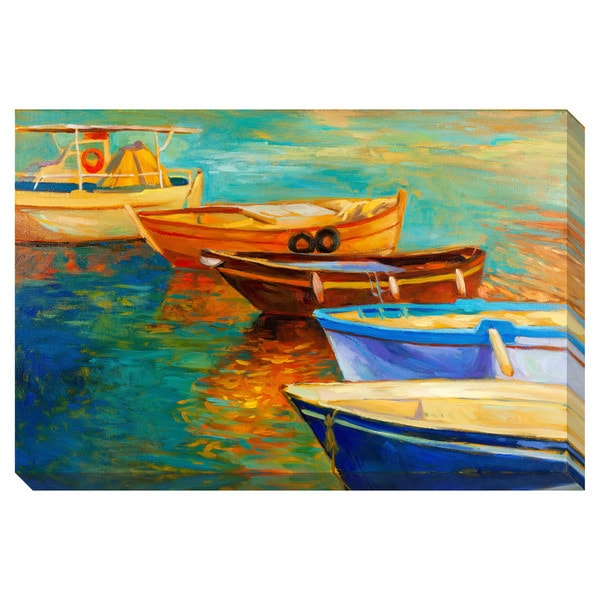 Gallery Direct Boats Oversized Gallery Wrapped Canvas